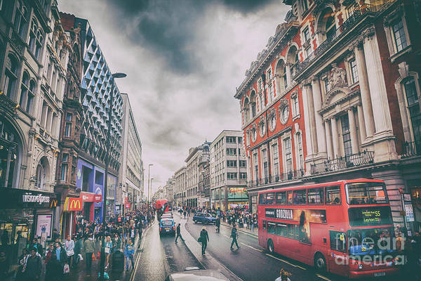Photograph - London Street by Ariadna De Raadt