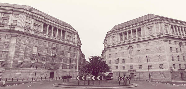 Photograph - London Thames House And Imperial Chemical House by Jacek Wojnarowski