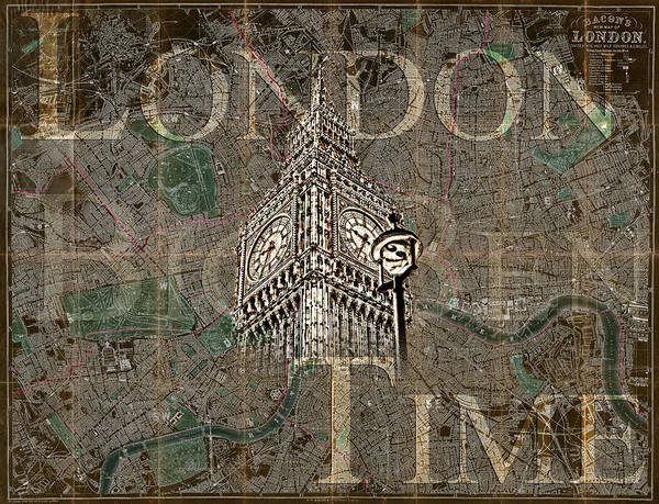 Photograph - London Time by Sharon Popek