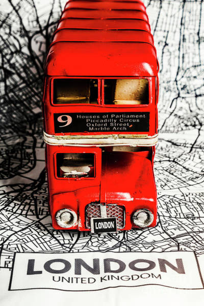 Map Photograph - London Tours by Jorgo Photography - Wall Art Gallery