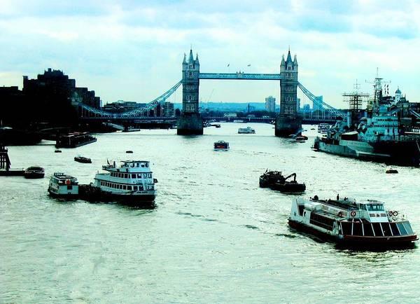 Photograph - London Uk by Michelle Dallocchio