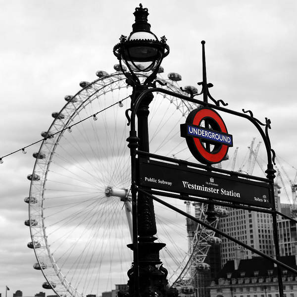 Photograph - London Underground 1 by Andrew Fare