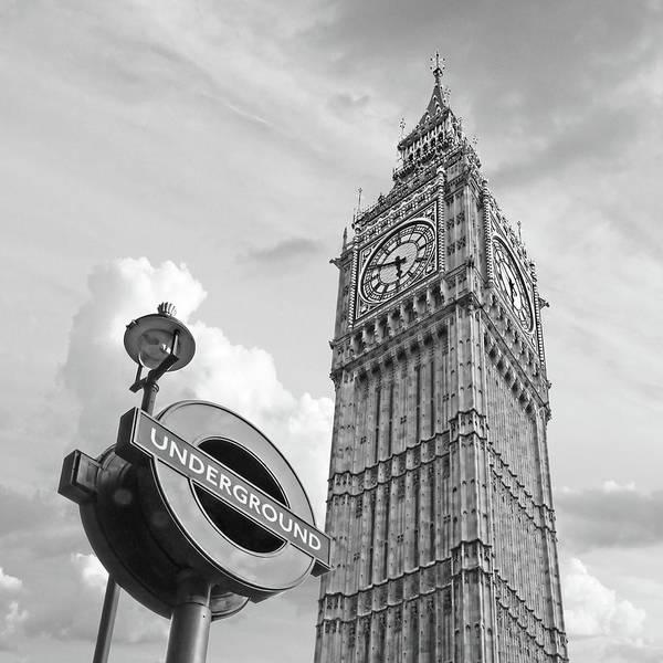 Photograph - London Underground by Gill Billington