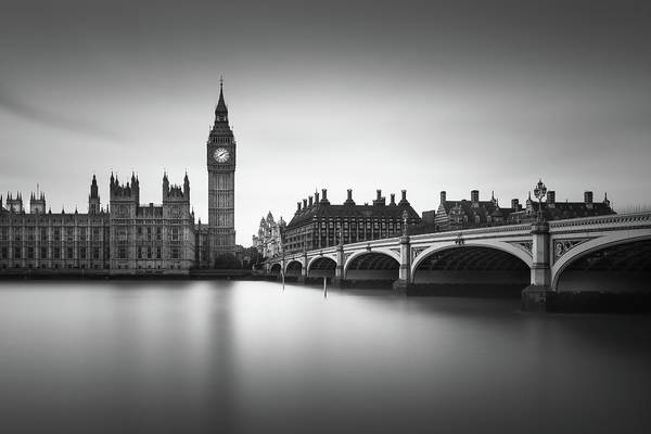 Westminster Bridge Photograph - London, Westminster Bridge by Ivo Kerssemakers