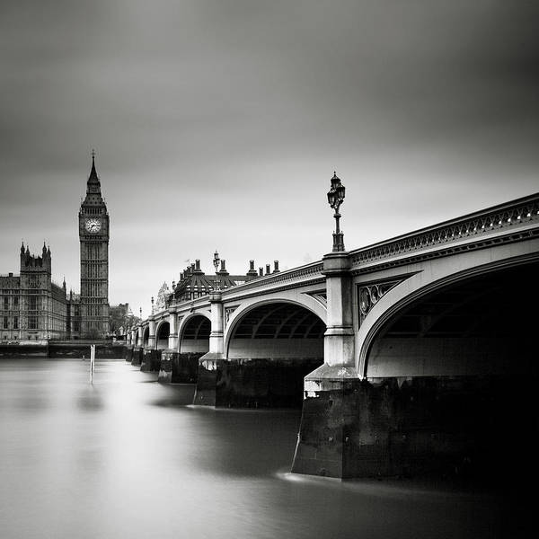 Westminster Bridge Photograph - London Westminster by Nina Papiorek