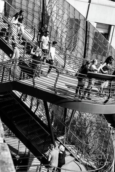 Photograph - Londonbridge Stairs, London by Nigel Dudson