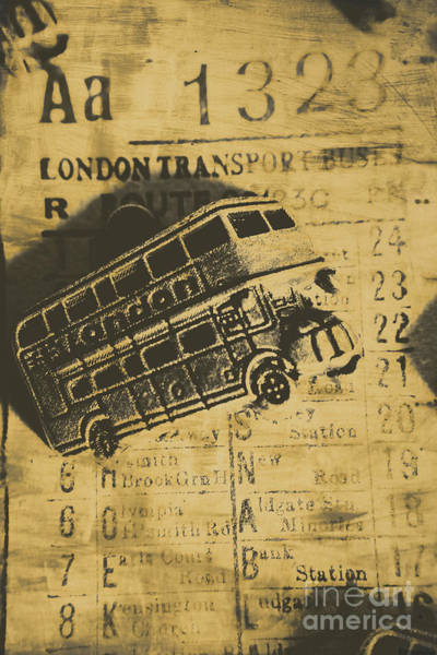 Ticket Photograph - Londoners Run by Jorgo Photography - Wall Art Gallery
