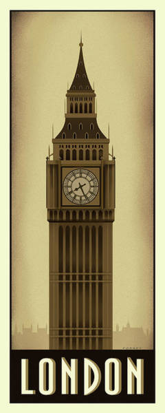 Wall Art - Digital Art - London's Big Ben by Steve Forney