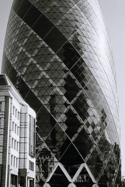 Photograph - London's Gherkin by Shaun Higson