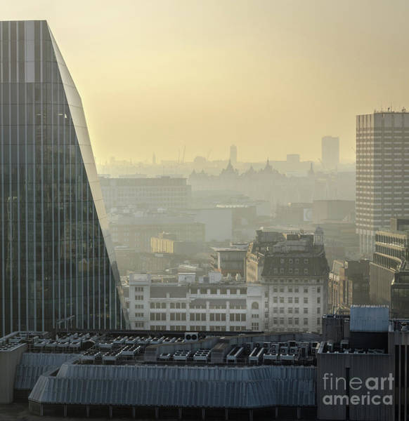 Photograph - London's Rooftops by Perry Rodriguez