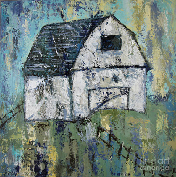 Wall Art - Painting - Lone Barn by Kirsten Reed