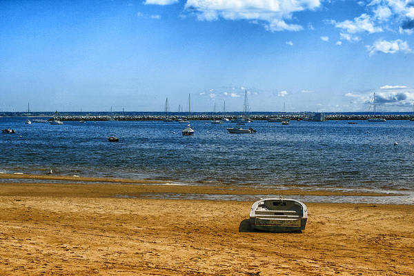 Photograph - Lone Boat In Provincetown by Bill Barber