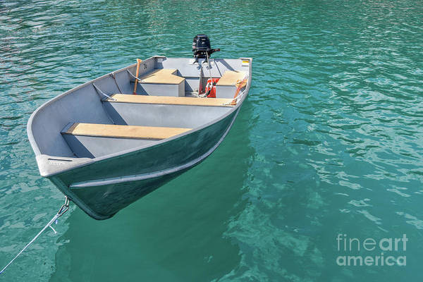 Photograph - Lonely Boat by Paul Quinn