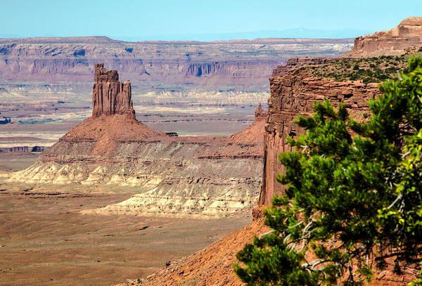 Photograph - Lone Mesa by Nicholas Blackwell