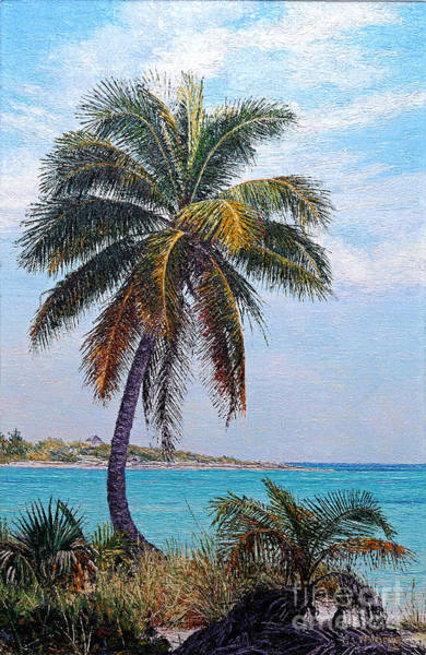 Painting - Lone Palm by Eddie Minnis