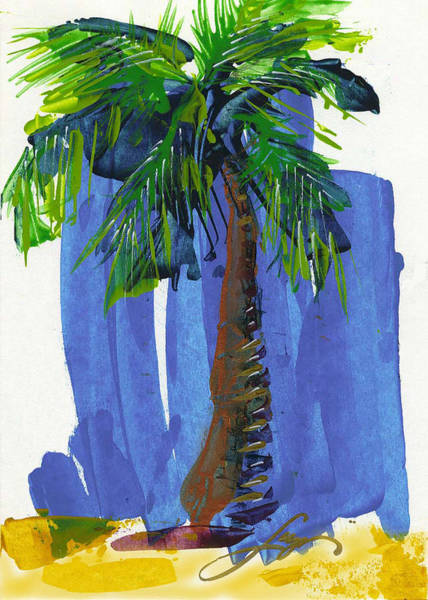 Painting - Lone Palm by Thomas Lupari