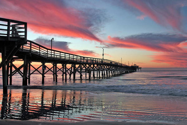 Photograph - Lone Pier by Ree Reid
