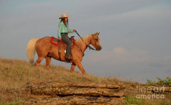 Wall Art - Photograph - Lone Rider by Bob Christopher