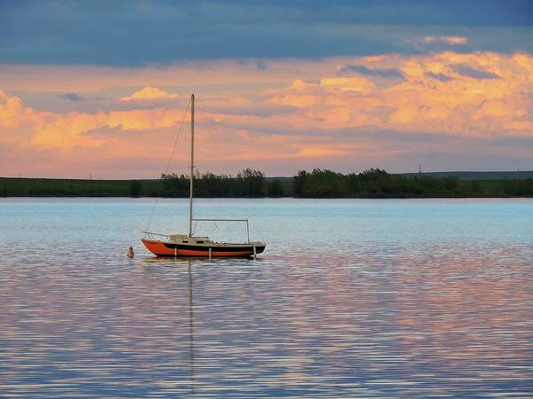 Arapahoe County Wall Art - Photograph - Lone Sailboat by Connor Beekman