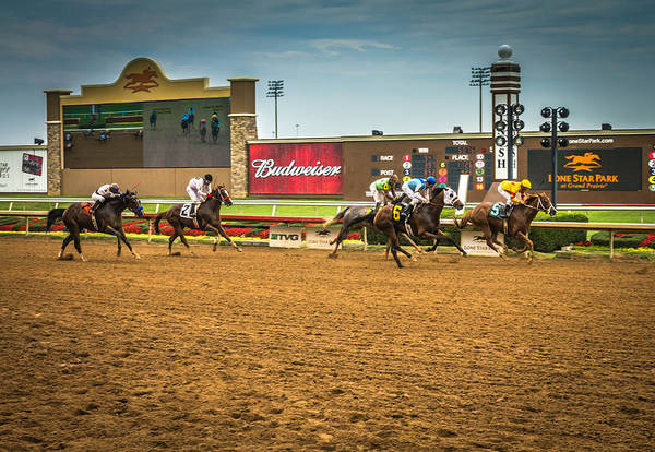 Lone Star Park Grand Prairie Texas Art Print