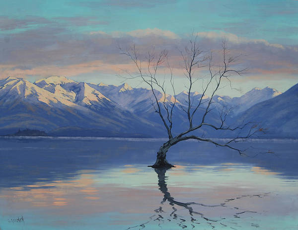 Wall Art - Painting - Lone Tree by Graham Gercken