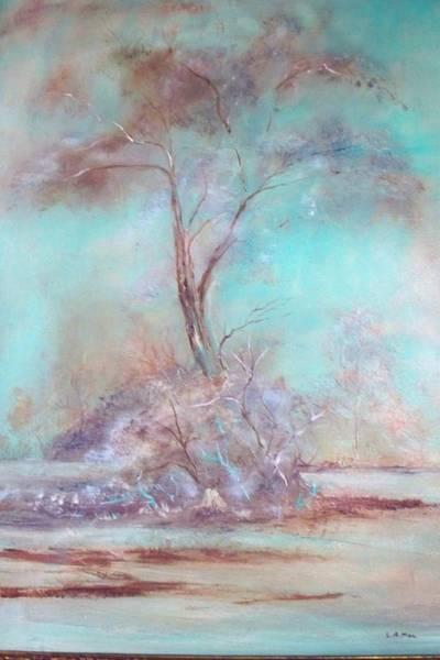 Wall Art - Painting - Lone Tree by Lynda McDonald