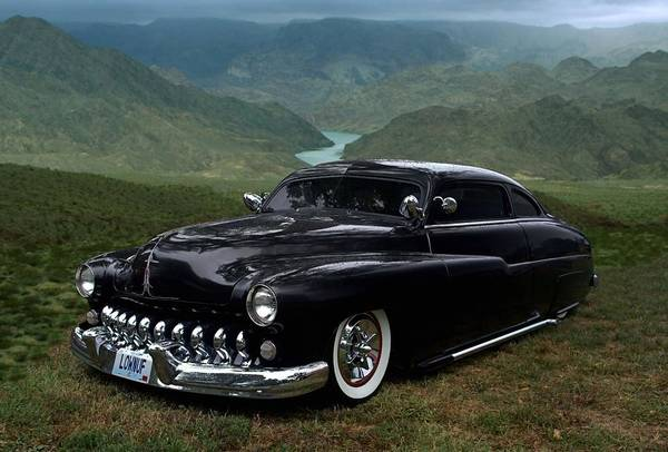 Photograph - Lone Wolf 1949 Mercury Low Rider by Tim McCullough