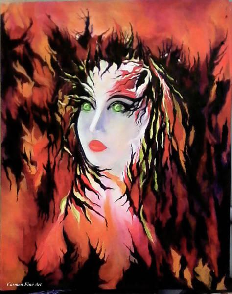 Lonely Angel Of God Art Print