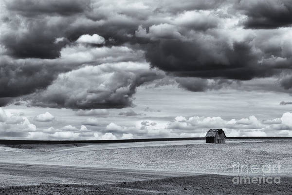 Barn Storm Wall Art - Photograph - Lonely Barn by Mike Dawson