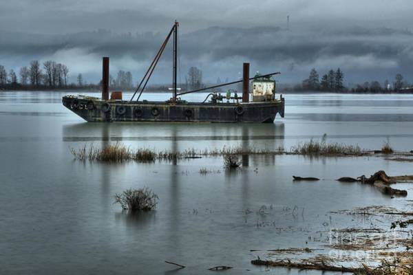 Photograph - Lonely Day On The Columbia River by Adam Jewell