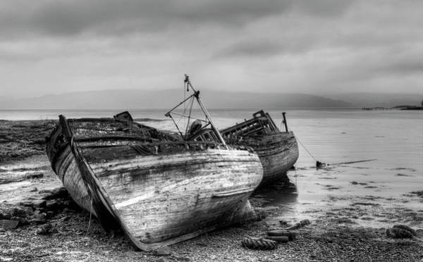 Wall Art - Photograph - Lonely Fishing Boats by Michalakis Ppalis