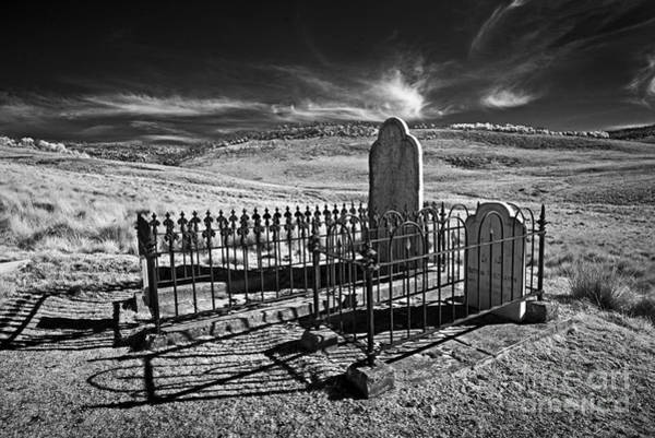 Photograph - Lonely Graves by Russell Brown