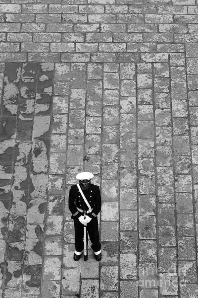 Photograph - Lonely Guard 1 by James Brunker