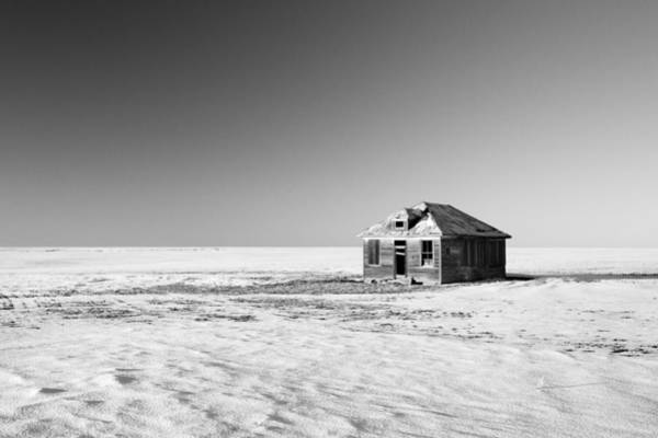 Photograph - Lonely Homestead by Todd Klassy