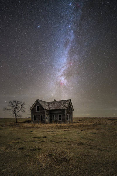 Photograph - Lonely House by Aaron J Groen