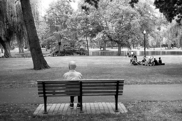 Photograph - Lonely In My Old Age Y1 by Carlos Diaz