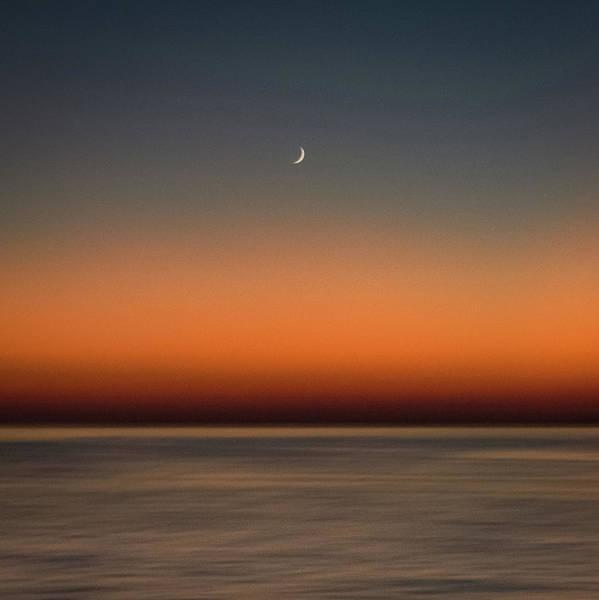 Photograph - Lonely Moon by John Whitmarsh