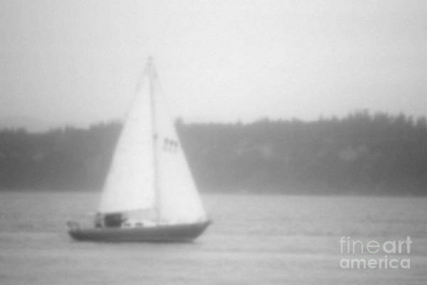 Wall Art - Photograph - Lonely Sailboat by Mark Ali