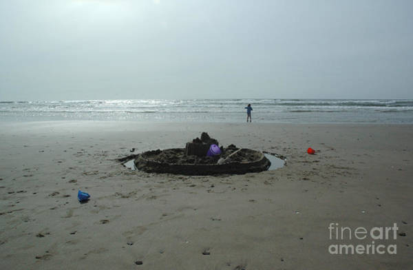 Photograph - Lonely Sandcastle by Kathi Shotwell