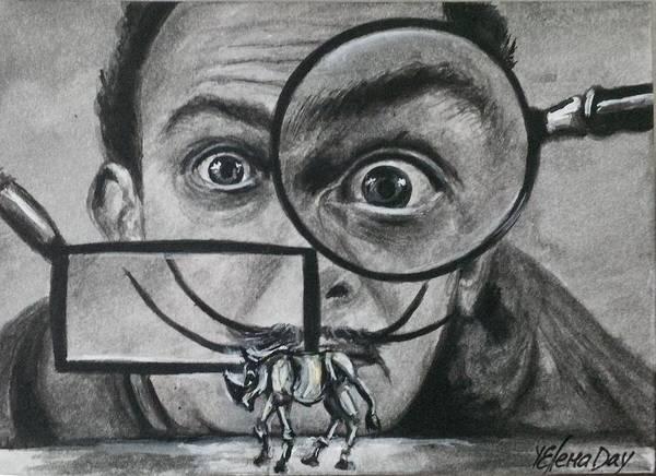 Salvador Dali Painting - Salvador Dali Rhino by Yelena Day