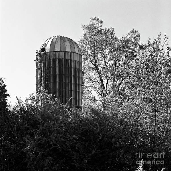 Photograph - Lonely Silo by Patrick M Lynch