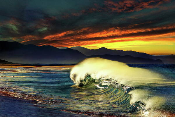 Wall Art - Photograph - Lonely Sunset - Sea Of Cortez by Russ Harris