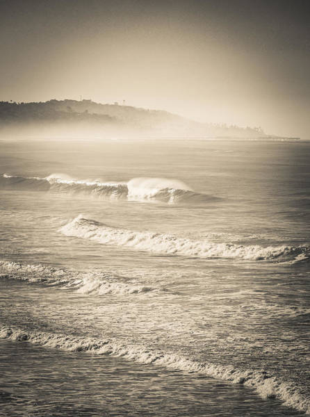 Lonely Winter Waves Art Print