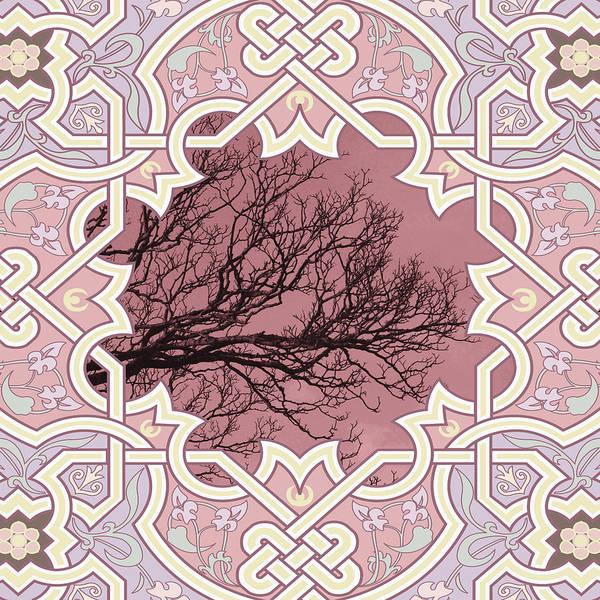 Mixed Media - Lonesome Tree Contemporary Art by Isabella Howard