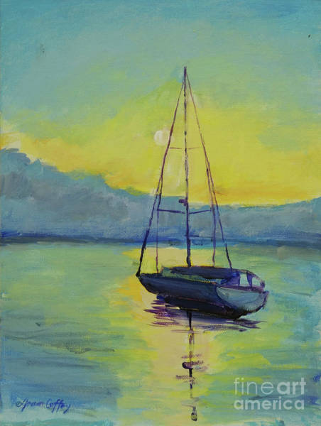 Painting - Long-awaited Sunrise by Joan Coffey