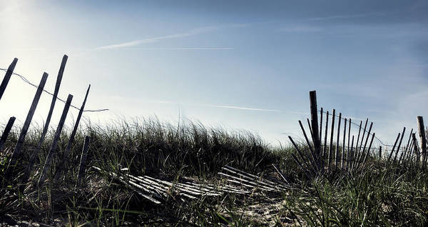 Photograph - Long Beach Fence by Joanne Brown