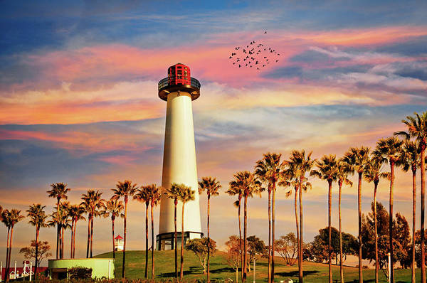 Photograph - Long Beach Harbor Lighthouse by Lynn Bauer