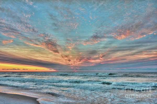 Photograph - Long Beach Island Sunrise by Jeff Breiman