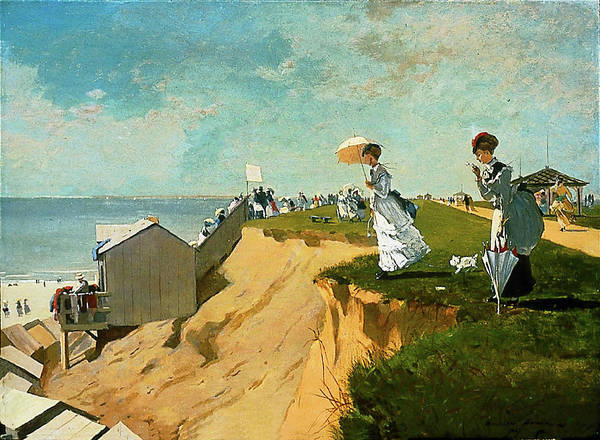 Painting - Long Branch New Jersey By Winslow Homer 1869 by Movie Poster Prints