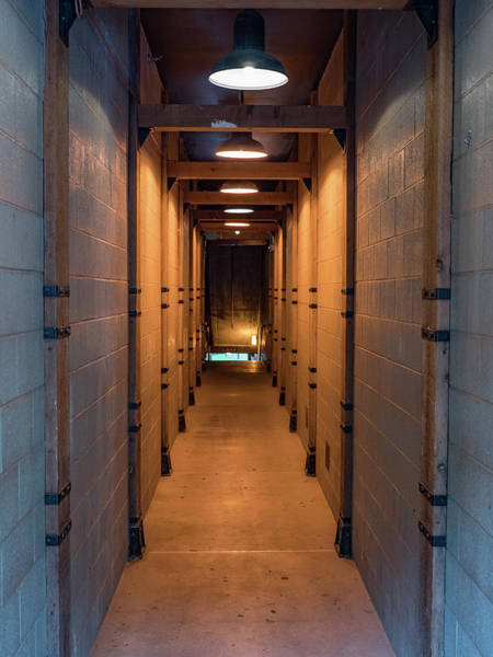 Photograph - Long Corridor With Lights  by Kyle Lee